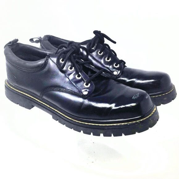 Skechers Mens Leather Dress Shoes
